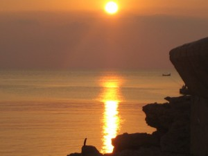 Закат на Мальте красив