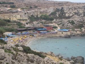 Пляжный отдых на Мальте
