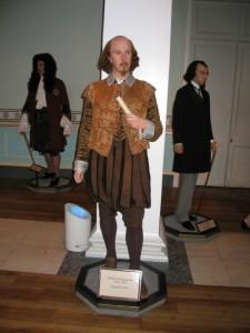 Уильям Шекспир, музей Мадам Тюссо в Лондоне