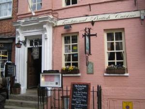Старый английский ресторан