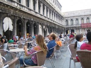 Кафе FLORIAN на площади Сан-Марко