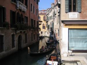 Канал в центре города