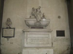 Гробница Макиавелли в Базилике Санта Кроче