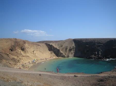 Пляжи Папагайо на Лансароте