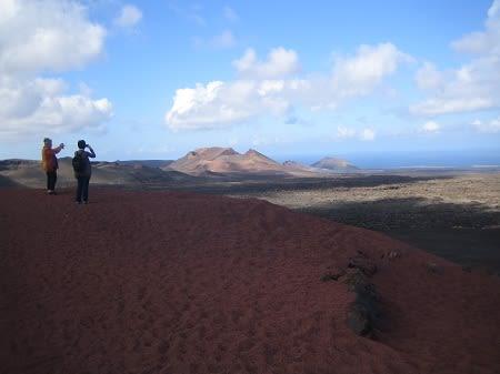 Марсианский пейзаж на Лансароте