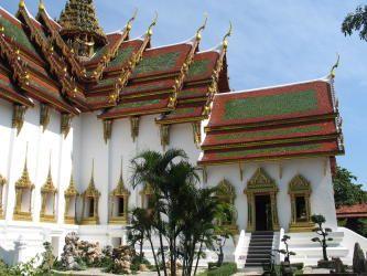 Особенность Таиланда - красивая архитектура