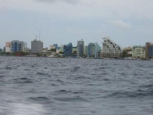 Перелет на Мальдивы совершается в столицу, Мале