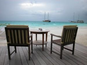 Развлечения на Мальдивах как правило, спокойные