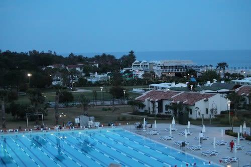 отель сентидо зейнеп гольф белек вид из номера на море и бассейн